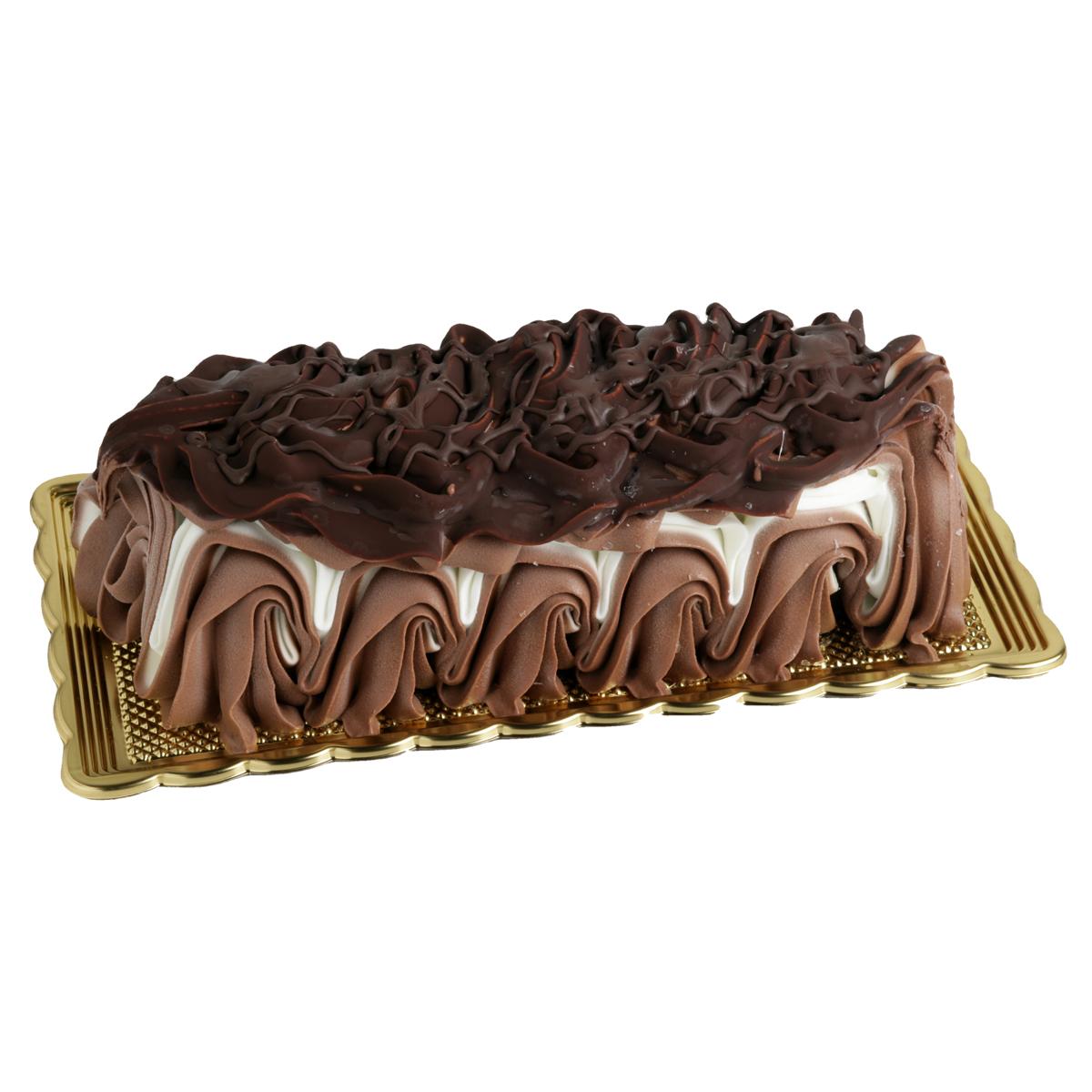 tronchetto gelato panna e cioccolato - gallo gelati artigianali siciliani