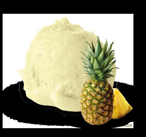 gelato ananas - Gallo gelati - Gelato artigianale siciliano