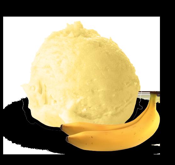 gelato banana - Gallo gelati - Gelato artigianale siciliano